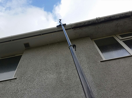 Domestic gutter cleaning exeter